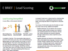 Six Ways to Know if You're Ready for Lead Scoring