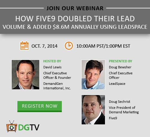 How Five9 Doubled Their Lead Volume Webinar