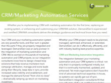 CRM and Marketing Automation Integration