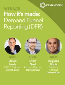 demandgen webinar demand funnel reporting