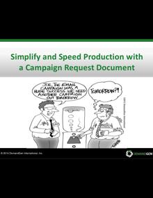 DemandGen Campaign Optimization Optimization Webinar