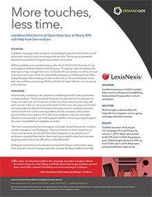 LexisNexis Case Study DemandGen