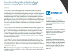 Concur Increased Pipeline Contribution by Over 50%