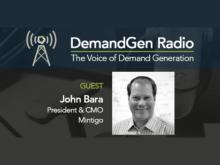DemandGen Radio: Are Today's Marketers Tomorrow's CEOs?