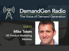 "DemandGen Radio: Now the 'M' in ""ABM"" stands for Marketo"