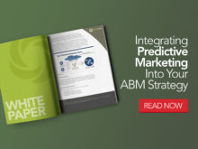Four Ways to Integrate Predictive Marketing Into Your ABM Strategy