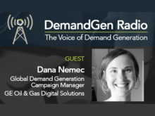 DemandGen Radio: Marketing Priorities at GE Oil & Gas