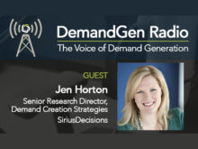 DemandGen Radio: The State of Marketing Automation with SiriusDecisions