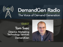 DemandGen's Tom Svec Talks about the Changing Role of Marketing Operations