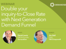 """Did You Miss """"Double Your Inquiry-to-Close Rate with Next Generation Demand Funnel"""" Webinar? Recording Now Available"""
