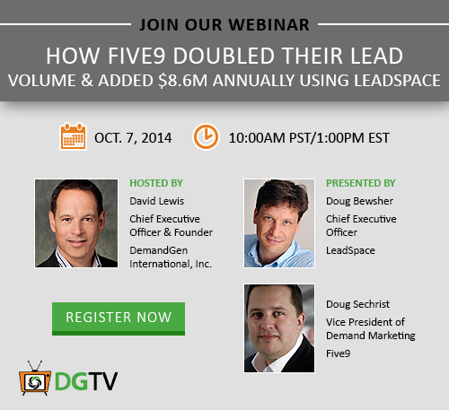 How Five9 Doubled Their Lead Volume Webinar