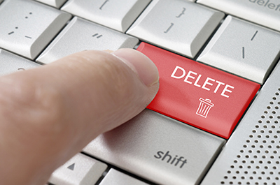Delete Button - Resized