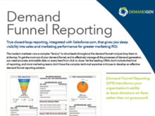 Get More From Your Demand Funnel With Demand Funnel Reporting