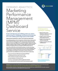 demandgen marketing performance management