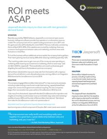 DemandGen Case study TIBCO Jaspersoft