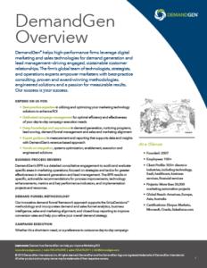 DeandGen Service Overview