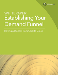 DemandGen Demand Funnel Whitepaper