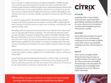 DemandGen Citrix Case Study