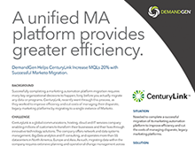 How CenturyLink Increased MQL's with Successful Marketo Migration
