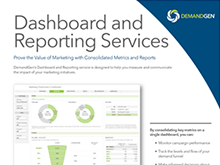 Marketing Performance Dashboard and Reporting Services