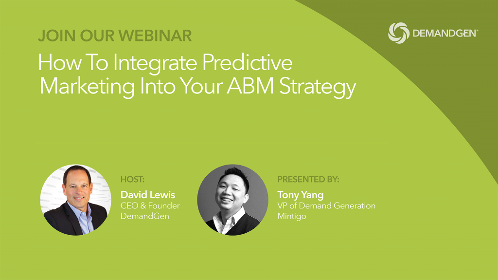 Webinar-DemandGen-Mintigo-Predictive Marketing