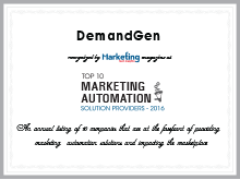 DemandGen Voted A Top 10 Marketing Automation Solution Provider by Marketing Tech Insights