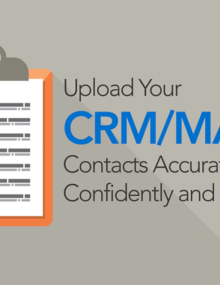 Upload Your CRM/MAP Contacts Accurately, Confidently and Quickly_Feat