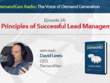 DemandGen Radio Successful Lead Management