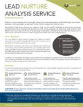 DemandGen Lead Nurture Analysis Datasheet 2