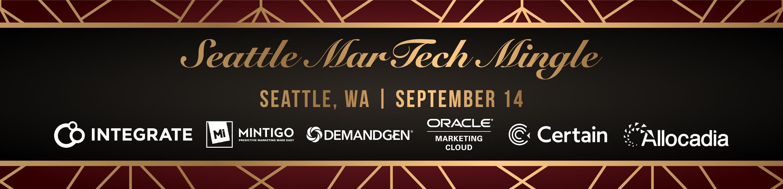 MarTech Mingle: Get Swanky with DemandGen in Seattle