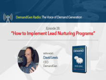 Feat-Image-David Lewis-DemandGen-Radio-Lead Nurturing Programs