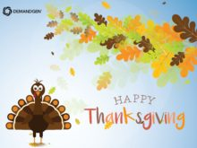 Happy Thanksgiving from DemandGen!