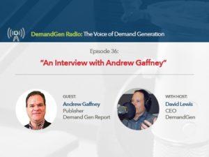 DemandGen Radio | David Lewis and Andrew Gaffney_Feat