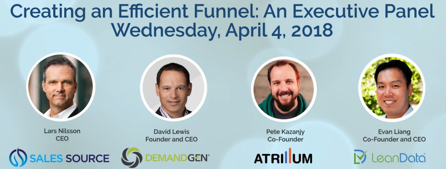 Creating an Efficient Funnel: An Executive Panel