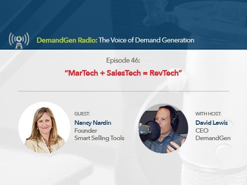 DemandGen Radio: MarTech + SalesTech = RevTech