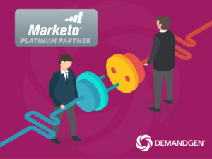 DemandGen Named Platinum Partner and Finalist for Digital Services Partner of the Year by Marketo® _feat image