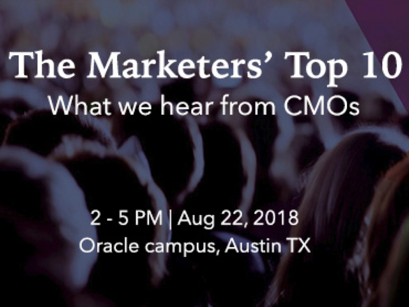 Austin Oracle Eloqua User Group: Get Maximum Value from Customer Data