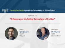 DemandGen Radio: Enhance your Marketing Campaigns with Video