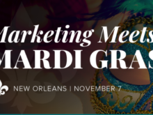 Mardi Gras Marketing Event