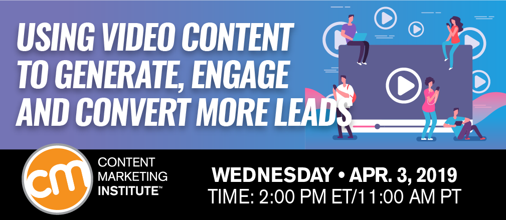 Generate, Engage, and Convert More Leads Webinar