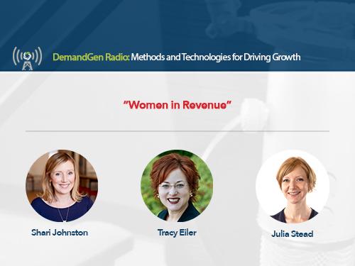 DemandGen Radio: A Mini-Series on Women in Revenue