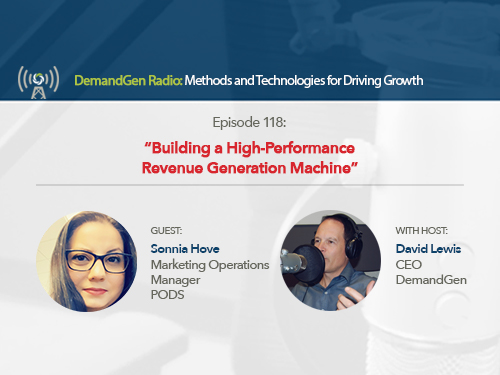 DemandGen Radio: Building a High-Performance Revenue Generation Machine