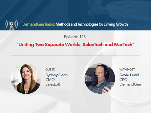 Uniting Two Separate Worlds: SalesTech and MarTech
