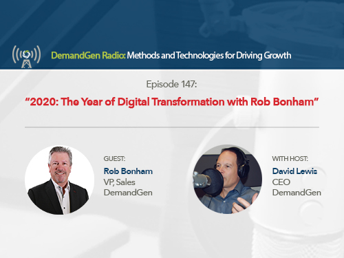 DemandGen Radio: The Year of Digital Transformation