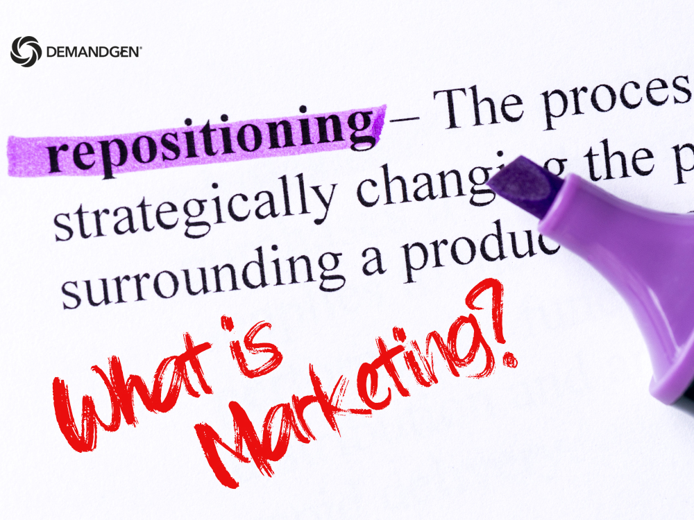 How to Reposition and Strengthen Marketing's Role in 2020