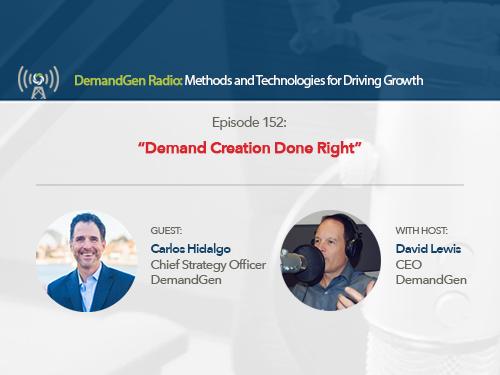 DemandGen Radio: Demand Creation Done Right