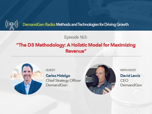 The D3 Methodology: A Holistic Model for Maximizing Revenue