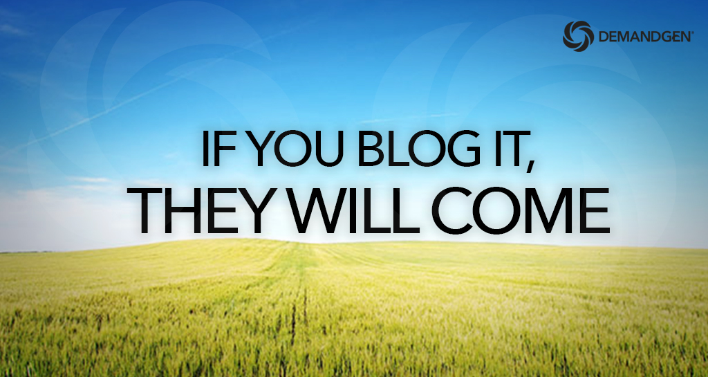 attracting buyers with your blog