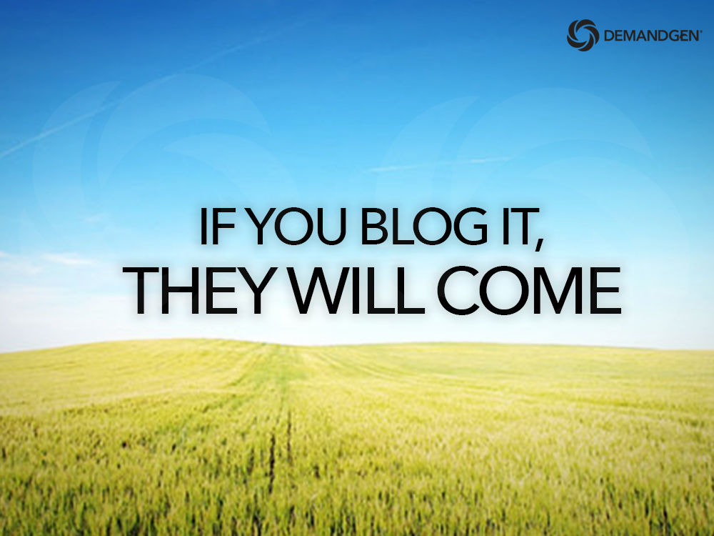 If You Blog It, They Will Come: The Ultimate Cheat Sheet for Attracting the Right Buyers with Your Blog Content