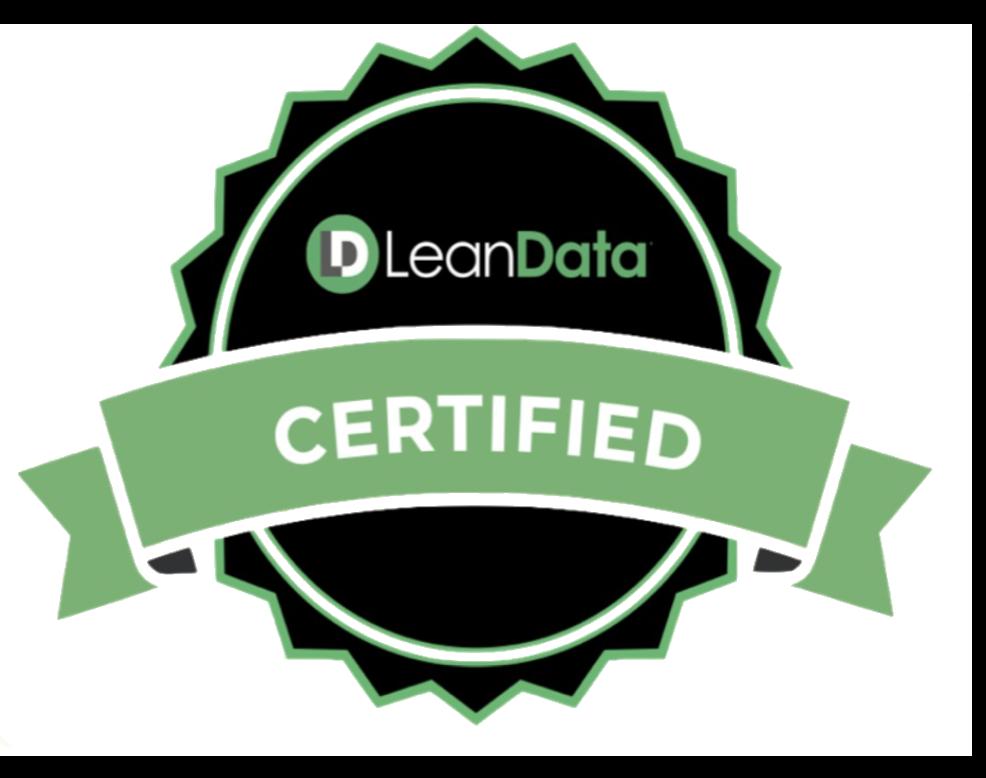 LeanData certified